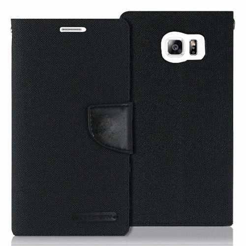 Wallet Cover Tarjetero Estuche Funda Samsung S6 Edge