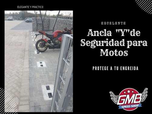 Ancla De Seguridad Para Motos Tipo Y