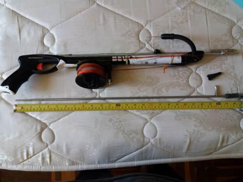 Arpon Beuchat Spadon Con Carrete, Dynema Y Flecha Adicional