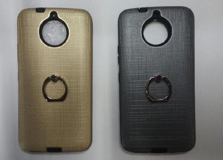 Case Protector Corrugado Con Parante Para Moto G5s Plus