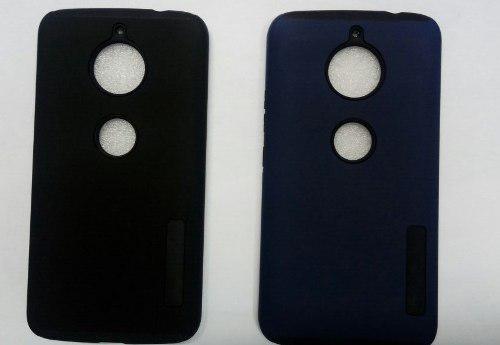 Case Protector Tipo Incipio Para Motorola E4 Plus