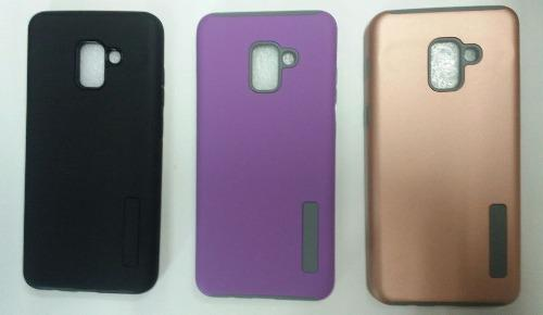 Case Protector Tipo Incipio Para Samsung Galaxy A8 2018 Plus