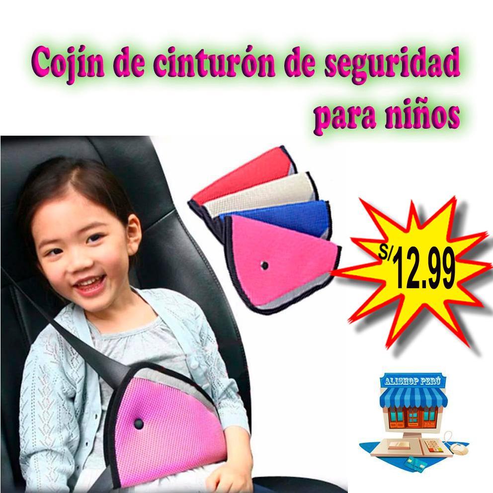 Protector de cinturón de seguridad para niños