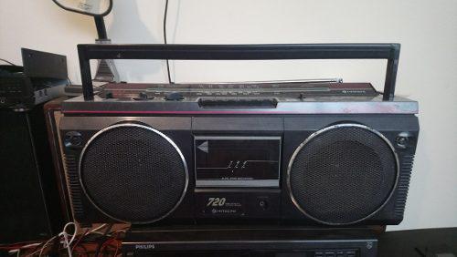Radio Grabadora Hitachi Trk-720w Funciona