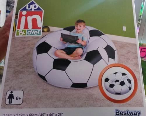 Sillon Tipo Balon Sofa Puff Inflable