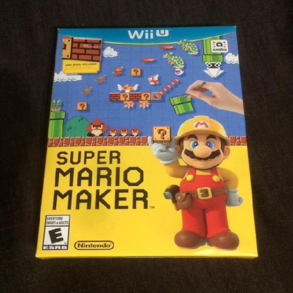 Super Mario Maker Wii U a S/.