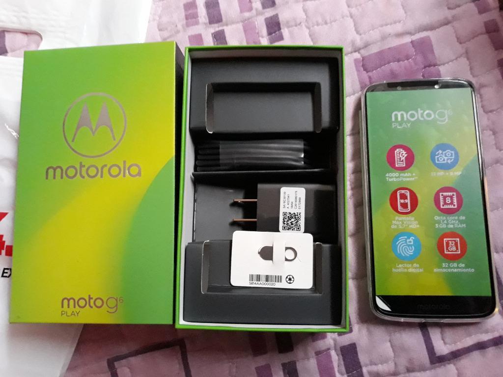Ocasion Moto G6 Play Nuevo Imei Original