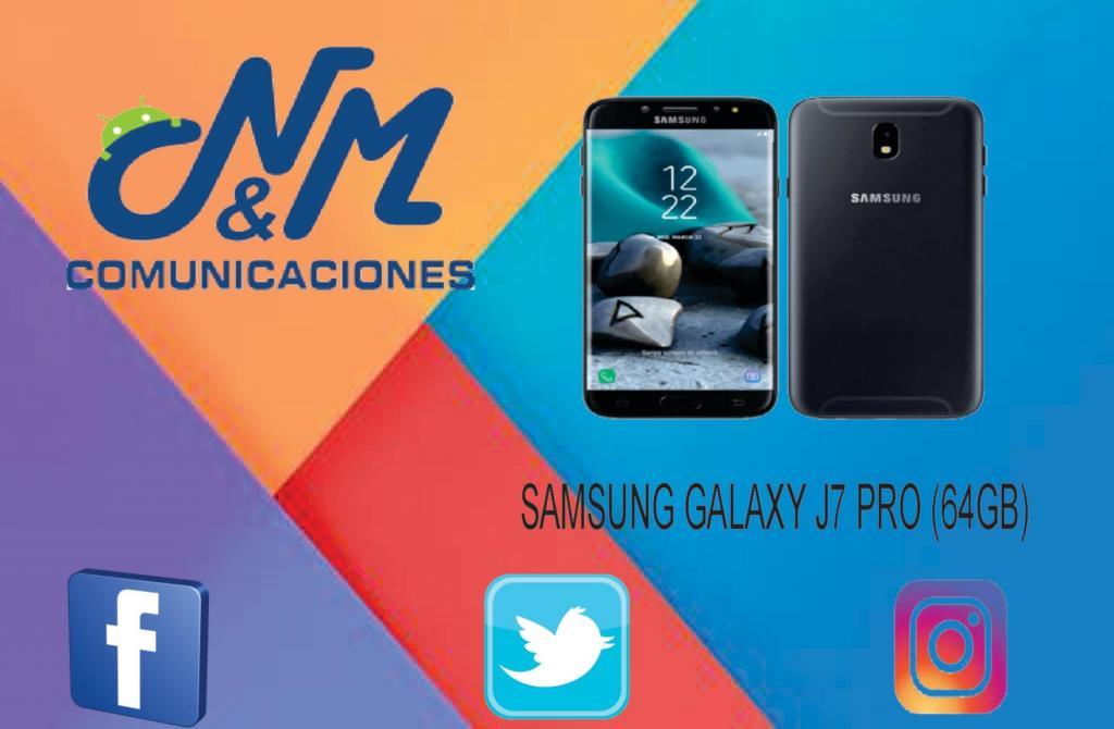 SAMSUNG GALAXY J7 PRO: 64GB, 3GB RAM, CAM 13MP. SOMOS