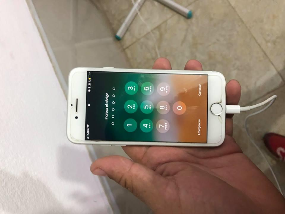 VENDO IPHONE 7 DE 128 GB SOLO ES CLARO GARANTIA