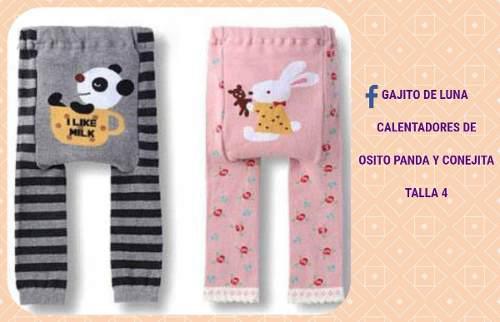 Calentador Osito Panda Y Conejita