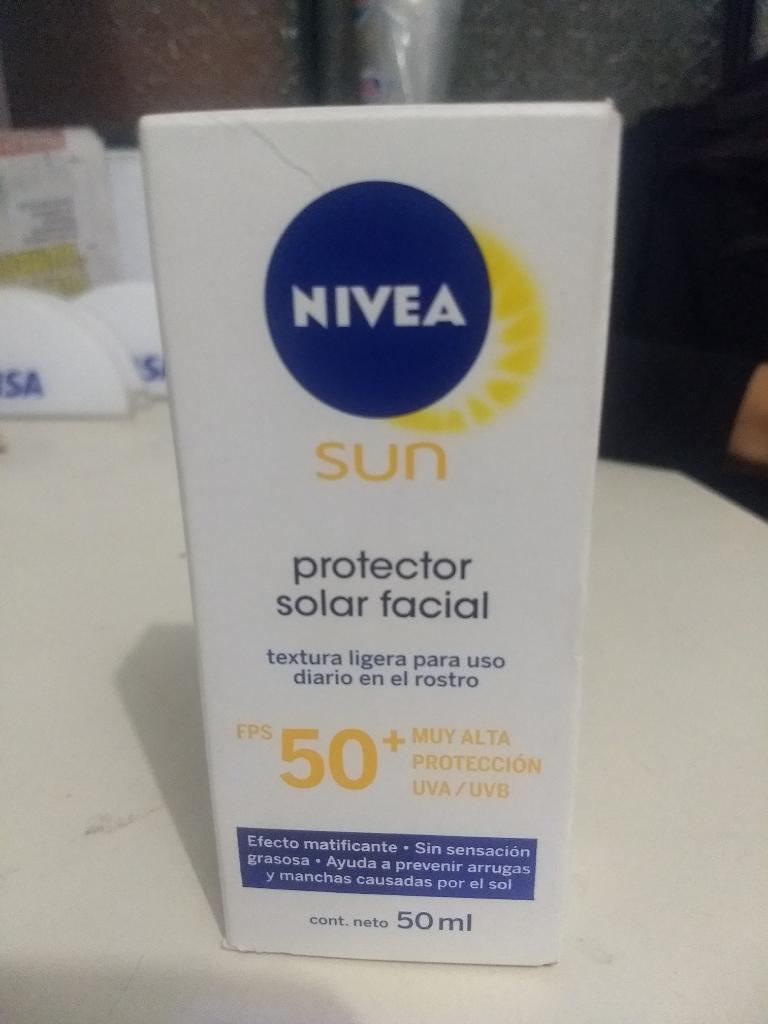 Protector Solar Nívea Sun