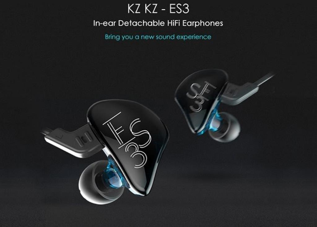 Auriculares In Ear Kz Es3