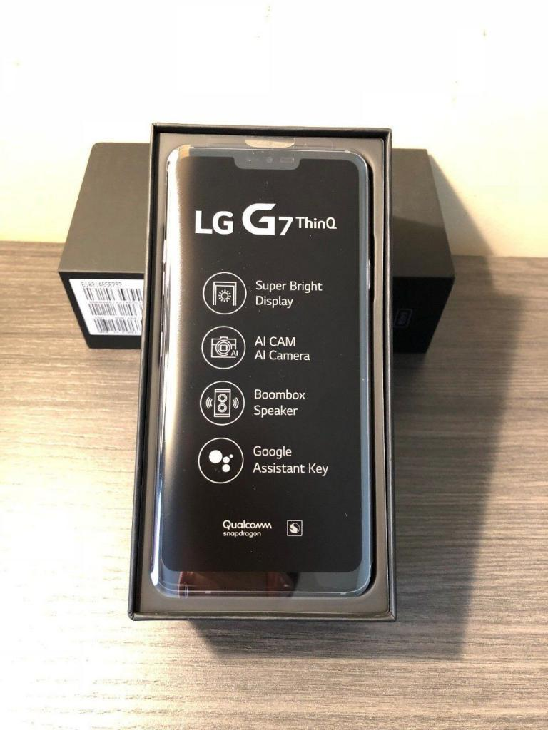 Lg G7 Thinq Nuevo Color Negro