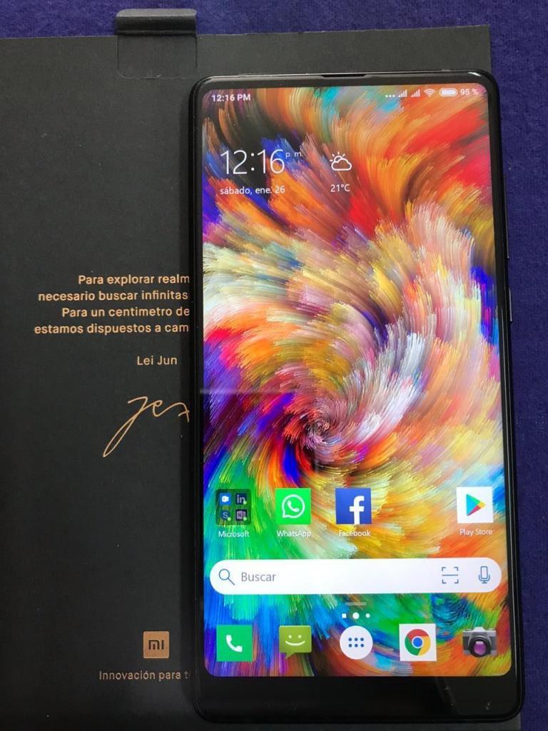Xiaomi Mi MIX 2 6gb RAM64gb ROM SEMINUEVO