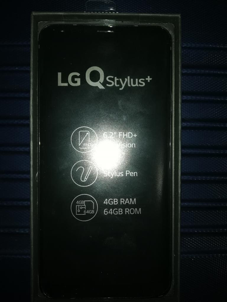 Celular Lg Q Stylus plus Nuevo sin Uso