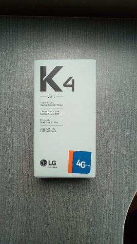 Lg K4 2017 (con Caja Y Accesorios Originales)