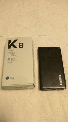 Lg K8 2017 Accesorios Completos, Como Nuevo 10/10, 16gb