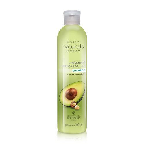 Pack Shampoo Acondicionador Avon Naturals Aguacate y