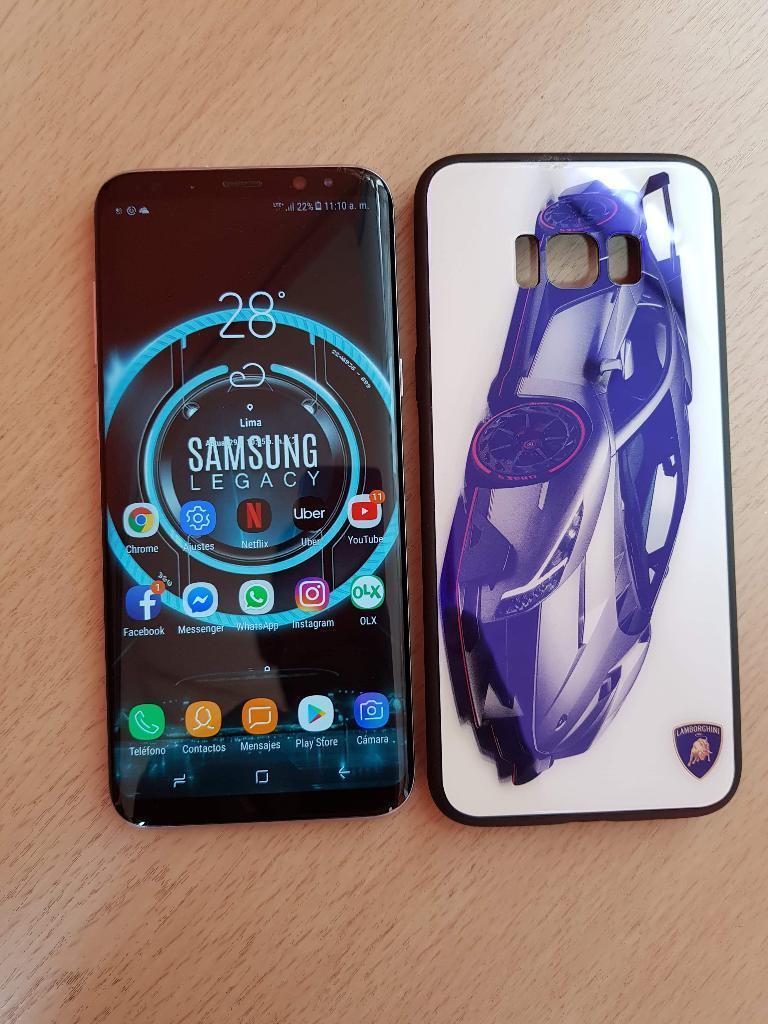 Samsung S8 Plus Libre Detalle