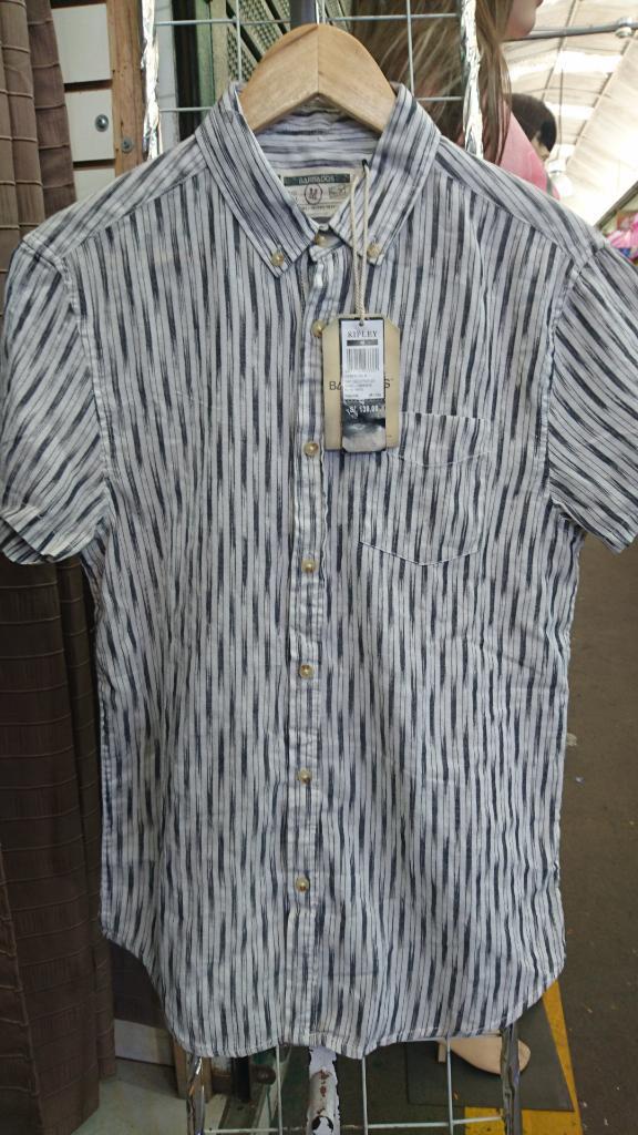 Camisa Barbados Slim Fit Nueva Talla M