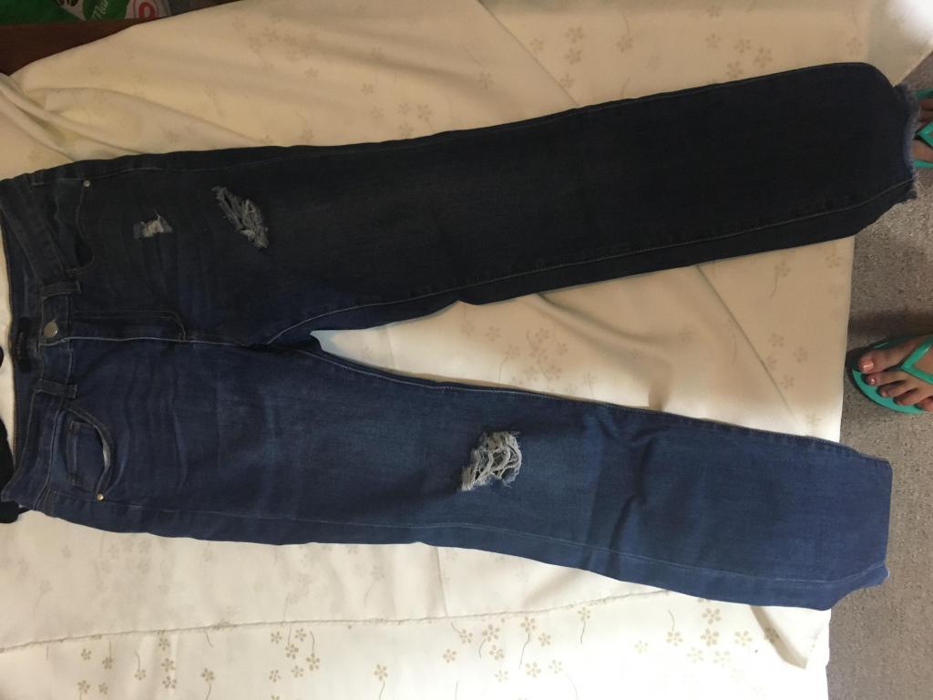 pantalon jean de mujer