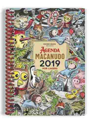 Agenda 2019 Macanudo Anillada Personajes