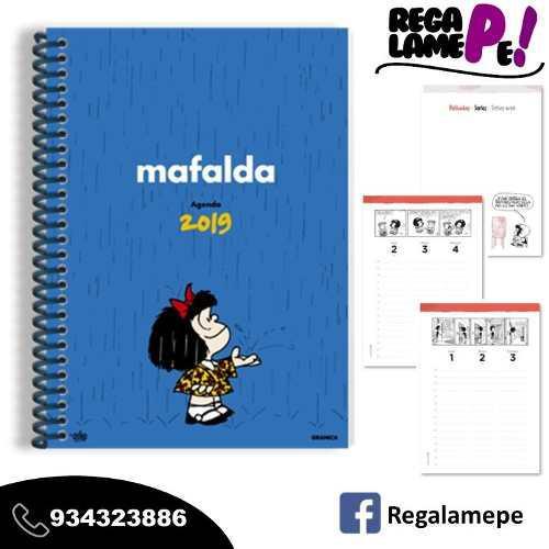 Agenda Mafalda 2019 Original Oferta