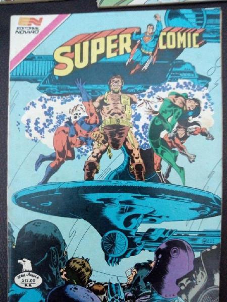 Comic Antiguo Super Comic con personajes de la infancia para
