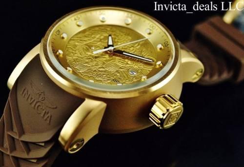 Invicta Dragon Automatico Dorado Yakuza 100% Original