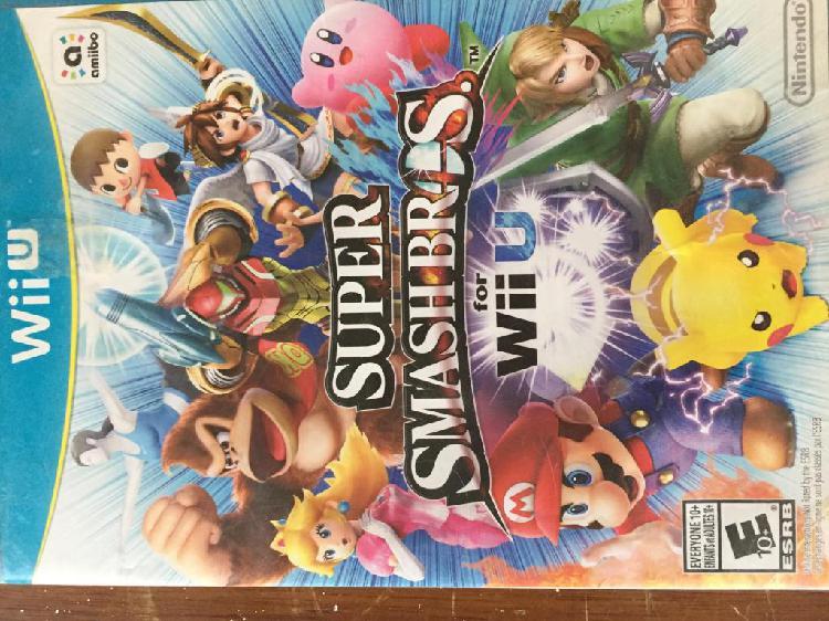 Juego para consola Nintendo Wii U Super Smash
