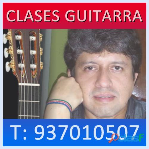 PROFESOR CLASES DE GUITARRA A DOMICILIO EN LIMA SURCO CURSO