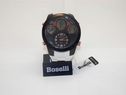 Reloj Boselli Original Doble Hora En Caja Varios Colores