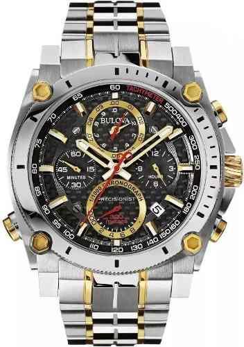 Reloj Bulova 98b228 Precisionist Cronógrafo - 01 Mes De Uso