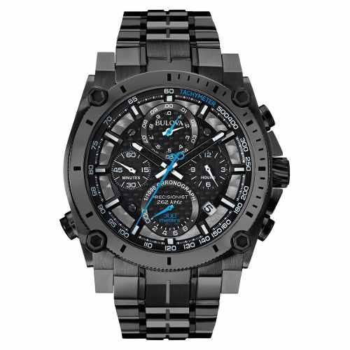 Reloj Bulova 98b229 Precisionist Cronógrafo Nuevo Hombre