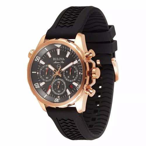 Reloj Bulova Marine Star Oro Rosa 97b153 Rose Gold