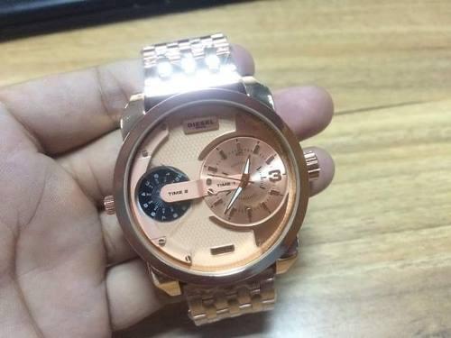 Reloj Diesel Dorado Para Hombre
