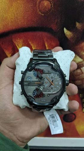 Reloj Diesel Dz7315 Mr. Daddy 2.0 57mm Original Nuevo Usa