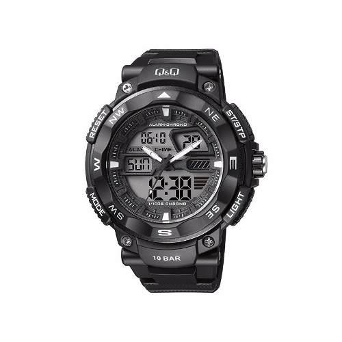 Reloj Q&q - Dual Digital - Analogo - Negro - Hombre