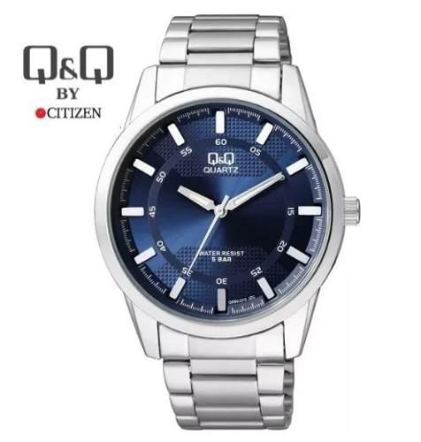 Reloj Q&q Para Hombres De Acero Inoxidable