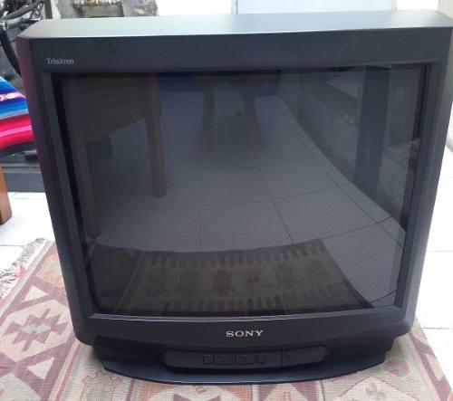 Television Tv A Color Sony De 21 Pulgadas Con Decodificador