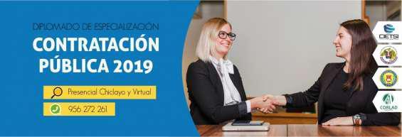 Diplomado de especialización en contratación pública 2019