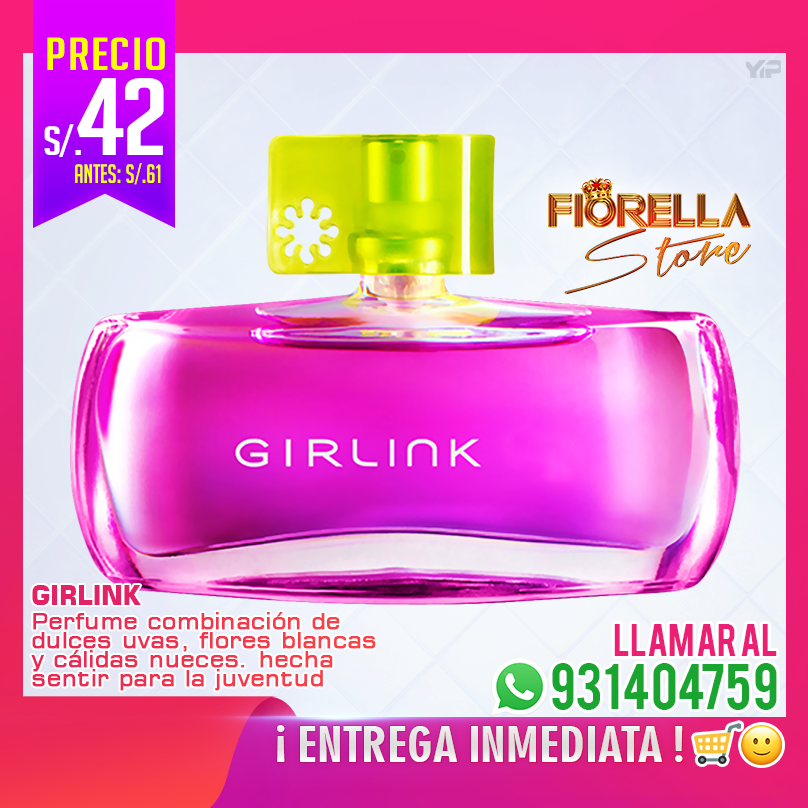 Perfume para Mujer Girlink