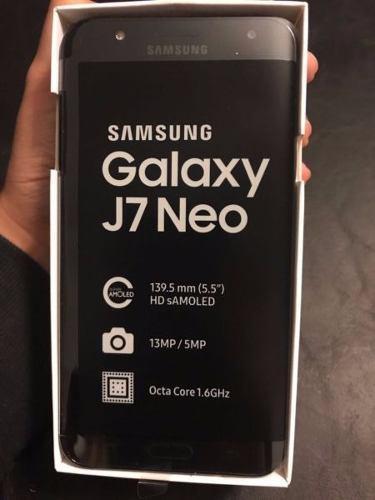 Samsung Galaxy J7 Neo L/fabrica 4g 2gb 16gb 13mp 5mp Sellado