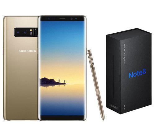 Samsung Galaxy Note 8 64gb Dorado Dual Sim Nuevo Tienda