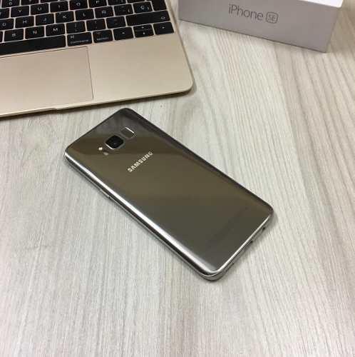 Samsung Galaxy S8 64gb Gold Libre 4g / Tienda / Garantía