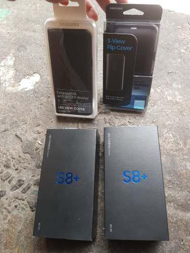Samsung Galaxy S8 Plus 64gb Libre En Caja Y Cases Original
