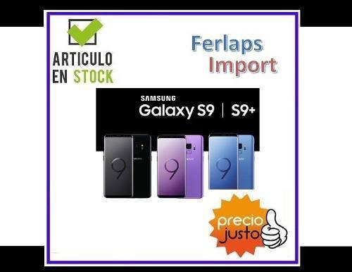 Samsung S9 Plus Sm-g965f 128gb 6gb + Samsung Gear Fit 2 Pro