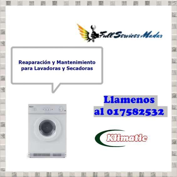 017582532 klimatic lavadoras secadoras servicio tecnico lima
