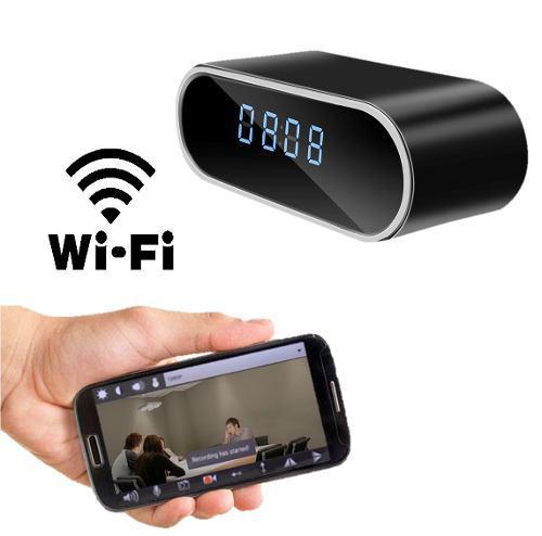 Camara Espia Despertador Reloj Wifi Con App Tiempo Real