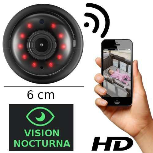 Mini Camara Espia Hd Foto Video Wifi Ip Vision Nocturna